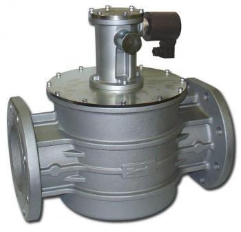 Электромагнитный клапан газовый MADAS M16/RM N.C. DN200 Р0,5 (фланцевый) НЗ