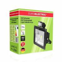 Прожектор светодиодный EUROLAMP с датчиком движения COB 20 Вт 6500 К LED-FL-20 (sensor) 1700 Лм