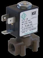 """Електромагнітний клапан прямого дії НЗ ODE 21JPARRV23 1/8"""" 2,1"""