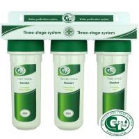 Трехступенчатая система очистки воды проточного типа СТАНДАРТ GREEN LINE