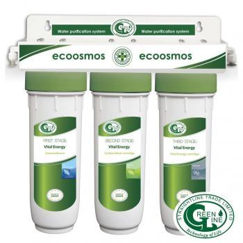 система очистки воды проточного типа GREEN LINE ЕКООСМОС VITAL ENERGY 5