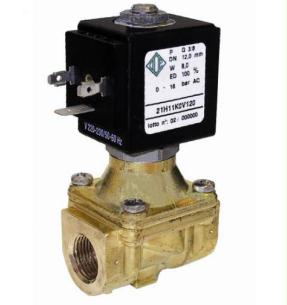 """Клапан электромагнитный  ODE 21HF8KOB400 комбинированного действия НЗ G 1 1/2"""" 280 л/мин"""