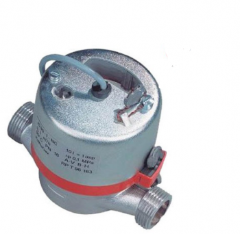 Счетчик горячей воды Apator Powogaz  JS 90NK-1,5 ГВ Dn20 c импульсным выходом