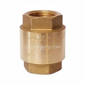 """Обратный клапан  пружинный Itap пластиковый шток 3/4"""""""
