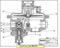 ремкомплект для регуляторов  RBI/E  1211 - 1212