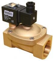 """Электромагнитный клапан GEVAX 1901 1 1/4"""" непрямого действия НО 0.5 - 10 bar"""