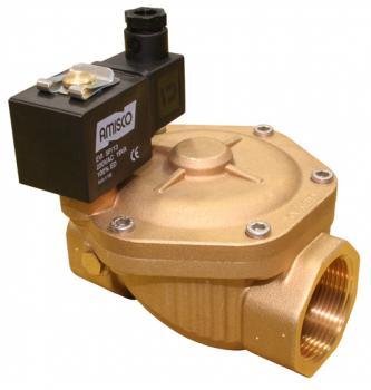 """Электромагнитный клапан GEVAX 1901 1 1/2"""" непрямого действия НО 0.5 - 10 bar"""