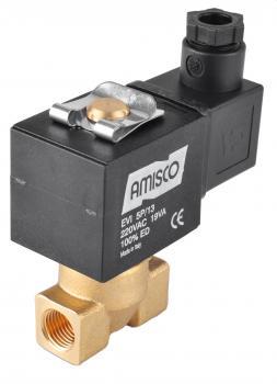 """Електромагнітний клапан GEVAX 1901 1/4 """"прямої дії N.O. 0 - 10 bar"""