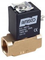 """Электромагнитный клапан GEVAX 1901 1/2"""" прямого действия N.C. 0 - 6 bar"""