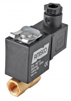 """Электромагнитный клапан GEVAX 1921 1/4"""" прямого действия N.C. 0 - 10 bar mini"""
