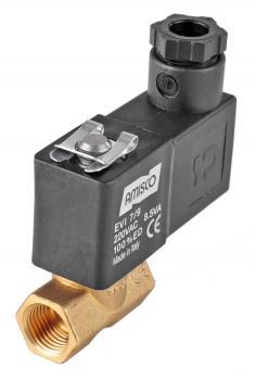 """Електромагнітний клапан GEVAX 1961 1/4"""" прямого дії N.C. 0 - 16 бар міні"""