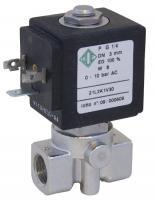 """Електромагнітний клапан з нержавіючої сталі ODE 21JL1R1V23 N.C. 1/8 """""""