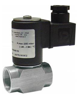 Электромагнитный  клапан MADAS EVO/NC Dn15 PN0,2  для природного газа  НЗ автоматический