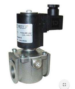 Электромагнитный  клапан MADAS EW1/NC Dn20 PN 0,5  для природного газа НЗ автоматический