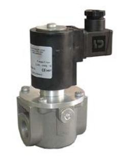 Электромагнитный  клапан MADAS EV-1 Dn20 PN1  для природного газа НЗ автоматический
