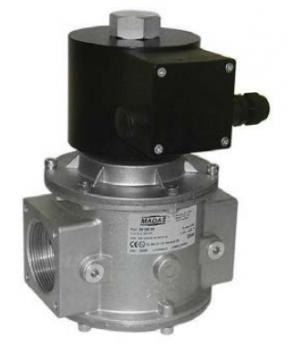 Электромагнитный  клапан MADAS EV-3 Dn32 PN3  для природного газа НЗ автоматический