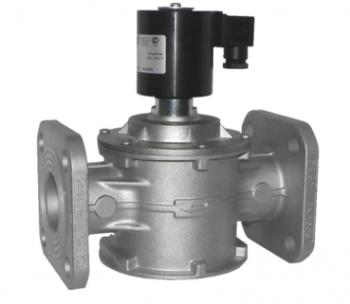 Электромагнитный  клапан MADAS EV-1 Dn40 PN0,5  для природного газа (Фланець) НЗ автоматический