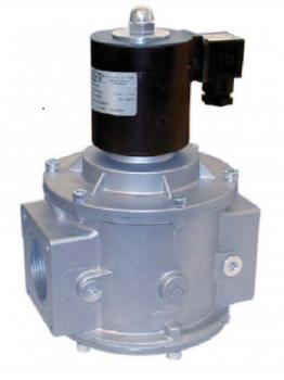 Электромагнитный  клапан MADAS EVA/NA Dn40 PN3  для природного газа НО автоматический