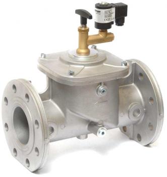 Электромагнитный клапан газовый Elektrogas EVRMNA7 DN65 P0,6 FL НО