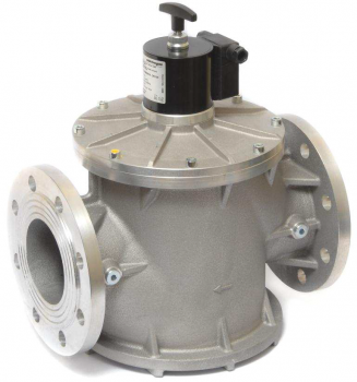 Электромагнитный клапан газовый Elektrogas EVRMNС4F DN40 P0,6 FL НЗ