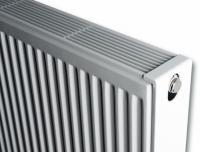 Сталевий панельний радіатор Brugman Compact 11 300x400, бокове підключення