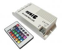 RGB контроллер 9 А - Радио 24 кнопки (аудио)