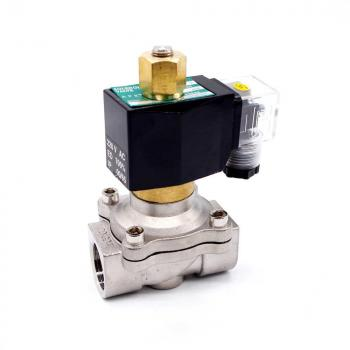 """Электромагнитный клапан из нержавеющей стали GAMA DSS-50SK N.O. 2"""" 0 - 6 bar"""