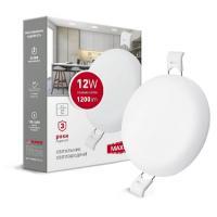 Встраиваемый светодиодный светильник MAXUS SP edge 12 Вт 1-MSP-1241-C