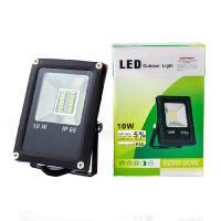 Прожектор світлодіодний ЕВРОСВЕТ 10 Вт 6400 К EV-10-01 700 Лм SMD