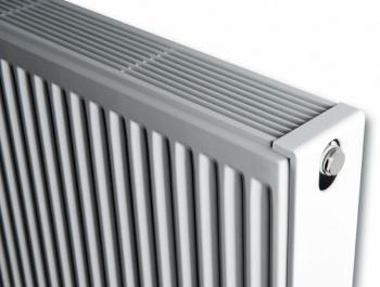 Стальной панельный радиатор Brugman Compact 33 400x400, боковое подключение