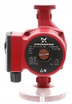 Насос циркуляционный Grundfos UPS 25-70 180 мм