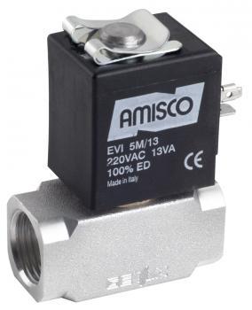 """Електромагнітний клапан для природного газу GEVAX 3901 1/2"""" прямої дії N.C. 0 - 1,5 bar автоматичний"""