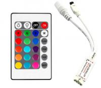 RGB Контроллер mini 6 А - И.К. 24 кнопки