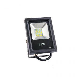 Прожектор світлодіодний ЕВРОСВЕТ 10 Вт 6400 К ES-10-01 550 Лм SMD