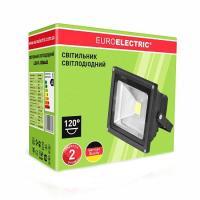 Прожектор светодиодный EUROLAMP COB 30 Вт classic 6500 К LED-FL-30 (black) 2550 Лм