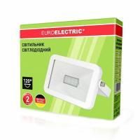 Прожектор светодиодний EUROELECTRIC SMD белый 10 Вт classic 6500 K LED-FL-10 (white) 800 Лм