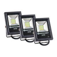 Набор из 3х прожекторов ЕВРОСВЕТ 10 Вт 6400 К EV-10-01 700 Лм SMD