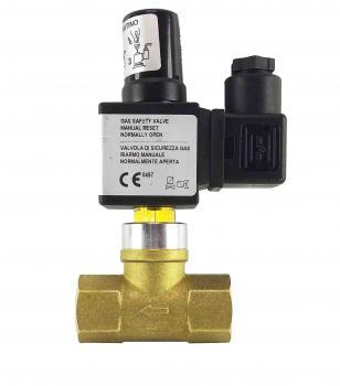 Електромагнітний клапан газовий Elektrogas EVRMNA1-OT DN15 Р0,6 НВ