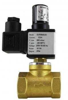 Электромагнитный клапан газовый Elektrogas EVRM6NA3-OT DN25 P6 НО