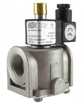 Электромагнитный клапан газовый MADAS M16/RMC N.C. DN20 Р0,5 (муфтовый) НЗ