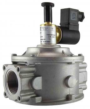 Электромагнитный клапан газовый MADAS M16/RM N.A. DN32 Р0,5 (муфтовый) НО