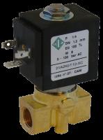 """Клапан электромагнитный высокого давления НЗ ODE 21A2KOT12-XC 1/4"""" 0 - 100 bar"""
