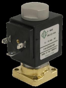 Клапан электромагнитный высокого давления НЗ ODE 21A1KOT15-X003 монтаж на плиту 0 - 90 bar