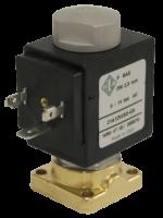 Клапан электромагнитный высокого давления НЗ ODE 4739MZU190 монтаж на плиту 1 - 50 bar