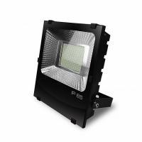Прожектор світлодіодний EUROLAMP SMD чорний з радіатором 100 Вт 6500 K LED-FLR-SMD-100 11000 Лм