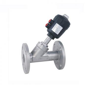 Клапан с пневмоприводом из полиамида GAMA HKF-32 DN 32 нержавеющая сталь 316 Фланцевый