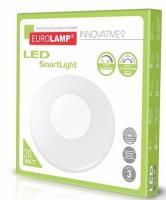 Світлодіодний світильник SMART LIGHT LED EUROLAMP 20W dimmable 3000-6500K
