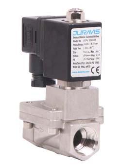 """Електромагнітний клапан з нержавіючої сталі Duravis ESV 600.03 N.C. 1/2"""" 0.5 -16 bar"""