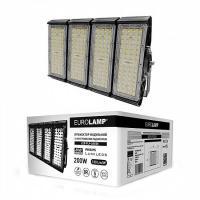 Прожектор светодиодный модульный с интегрированным радиатором EUROLAMP 200 Вт 5000 K LED-FLP-200/50 26000 Лм