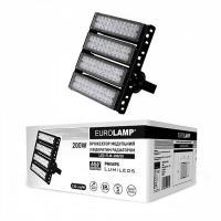 Прожектор светодиодный модульный с открытым радиатором EUROLAMP 200 Вт 5000 K LED-FLM-200/50 26000 Лм